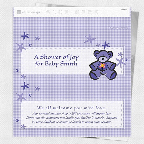 Photo of Baby Shower Bear - Wrappers only