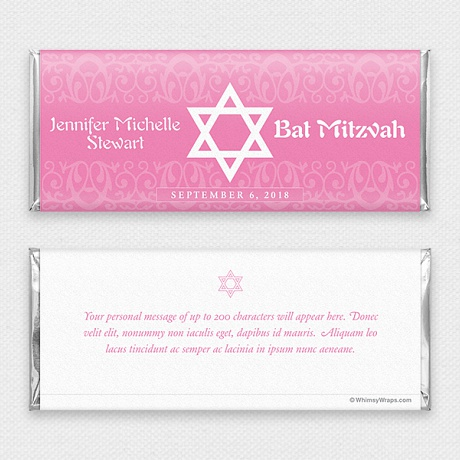 Photo of Bat Mitzvah (Pink)