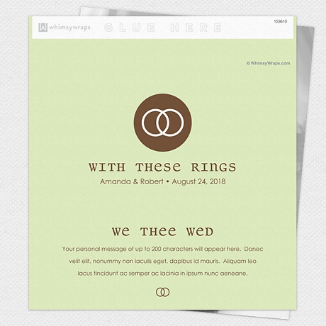 Photo of We Thee Wed - Wrappers only