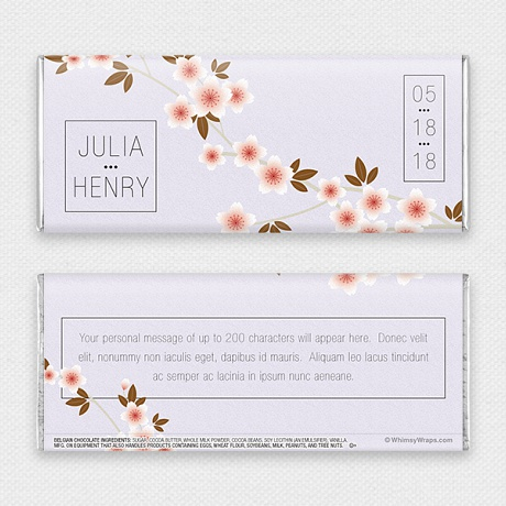 Photo of Cherry Blossom - with Belgian Milk Chocolate Bar (45g)
