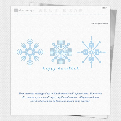 Photo of Hanukkah Snowflakes - Wrappers only