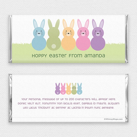 Photo of Hoppy Easter - with Hershey Milk Chocolate Bar (45g)
