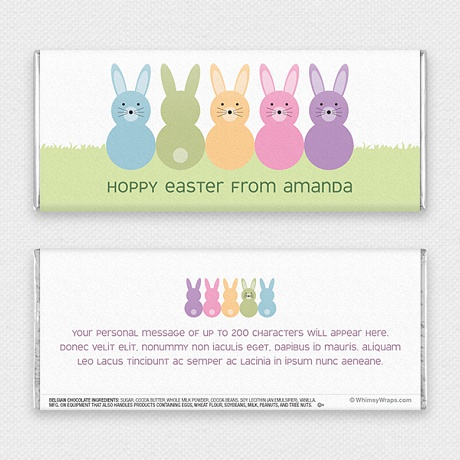 Photo of Hoppy Easter - with Belgian Milk Chocolate Bar (51g)