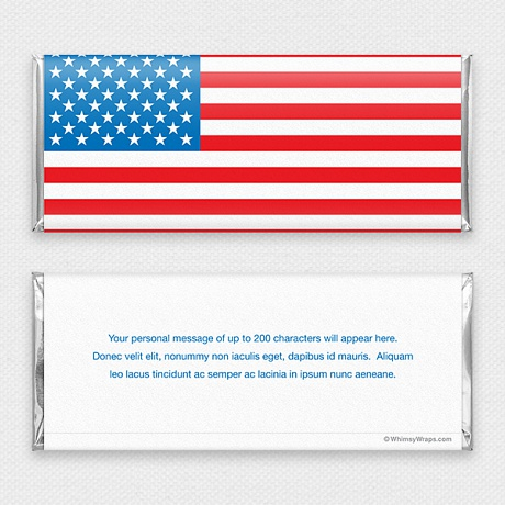 Photo of Old Glory - with Hershey Milk Chocolate Bar (45g)