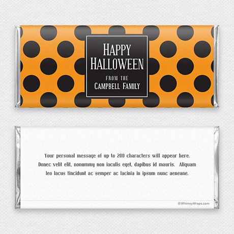 Photo of Spooky Dots - with Hershey Milk Chocolate Bar (45g)