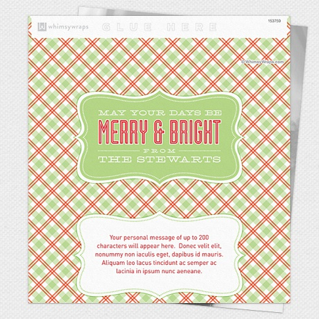Photo of Merry and Bright - Wrappers only