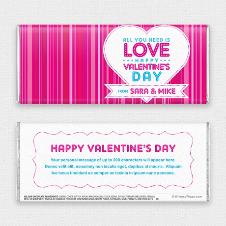 Photo of Love Lights - with Belgian Milk Chocolate Bar (45g)