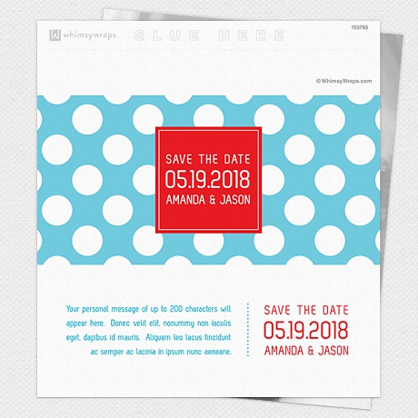 Photo of Dotty (Save the Date) - Wrappers only