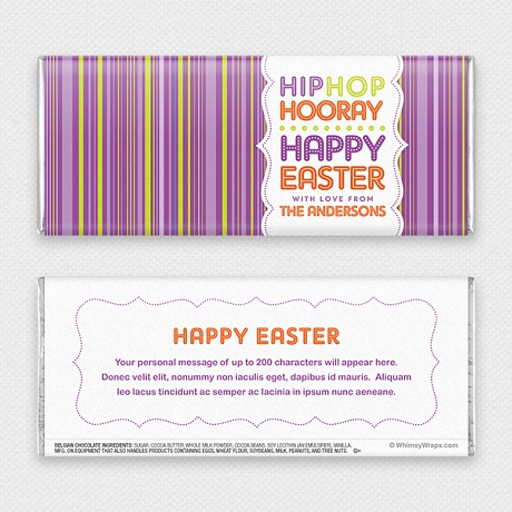 Photo of Hip Hop Easter - with Belgian Milk Chocolate Bar (51g)
