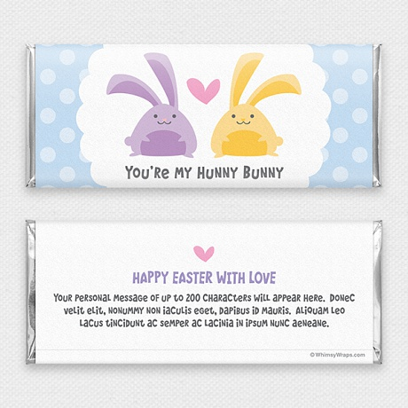 Photo of Hunny Bunny - with Hershey Milk Chocolate Bar (45g)