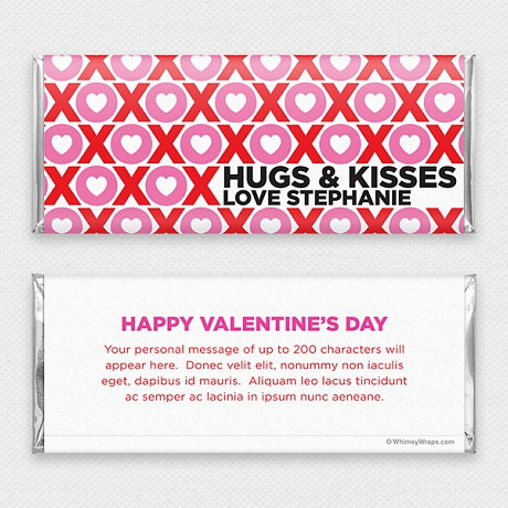 Photo of Sweet Kisses - with Hershey Milk Chocolate Bar (45g)