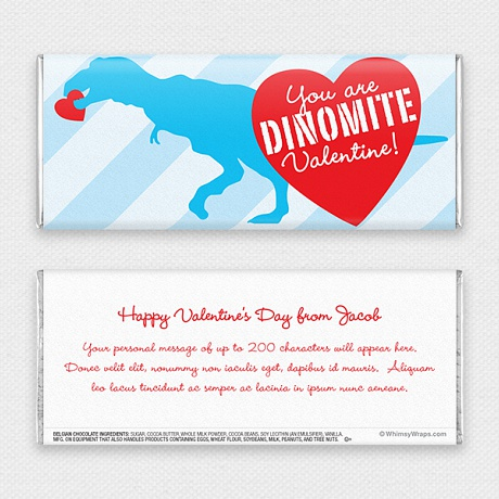 Photo of Dino Love - with Belgian Milk Chocolate Bar (45g)