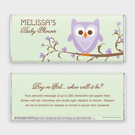 Photo of Owl Baby - with Belgian Milk Chocolate Bar (45g)