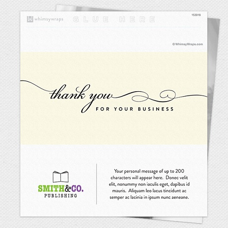 Photo of Gratitude (Business Thanks) - Wrappers only