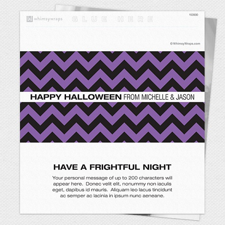 Photo of Halloween Chevron - Wrappers only