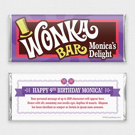 Photo of Wonka - with Hershey Milk Chocolate Bar (45g)