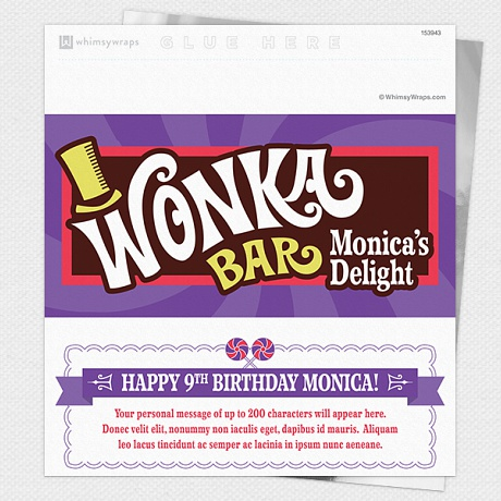 Photo of Wonka - Wrappers only