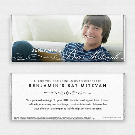 Photo of Tradition (Bar Mitzvah) - with Belgian Milk Chocolate Bar (51g)