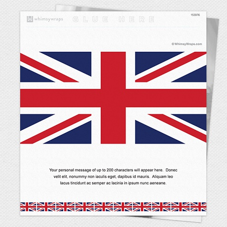Photo of United Kingdom Flag - Wrappers only