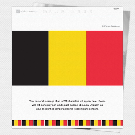 Photo of Belgian Flag - Wrappers only