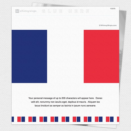 Photo of French Flag - Wrappers only