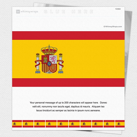 Photo of Spanish Flag - Wrappers only