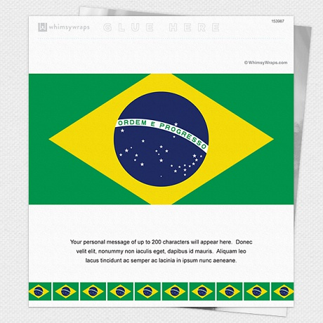 Photo of Brazilian Flag - Wrappers only